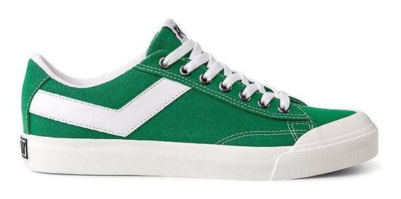 Zapatillas Pony Vintage Verde Hombre 332652