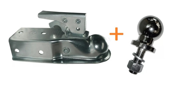 Carcasa / Tortuga 50mm + Bocha Cromada 1 7/8 Para Enganches