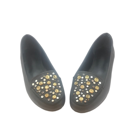 Zapato Mujer Mocasín Cuero Pampa Con Tachas - Lynch - #26