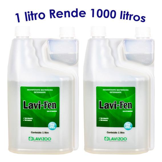 Lavi-fen Desinfetante De Alto Rendimento 2 Litros Lavizoo