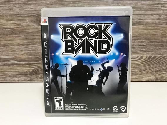 Jogo Rock Band Ps3 - Playstation 3 - Original - Mídia Física