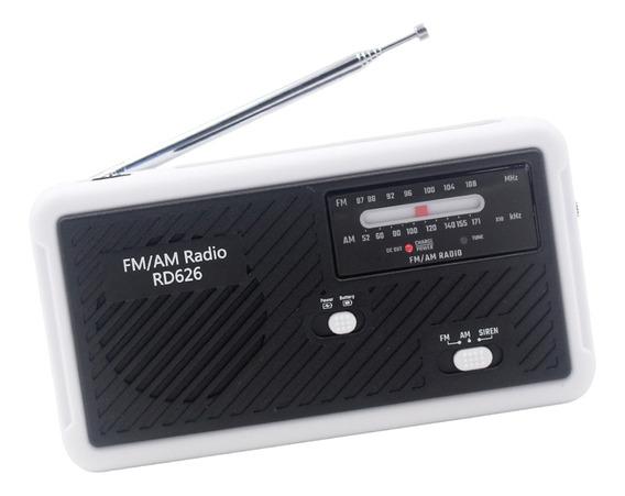 Magideal Solar Mão Manivela Alimentado Rádio Am / Fm / Ser