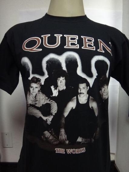 Camisa Queen The Works Freddie Mercury Rock