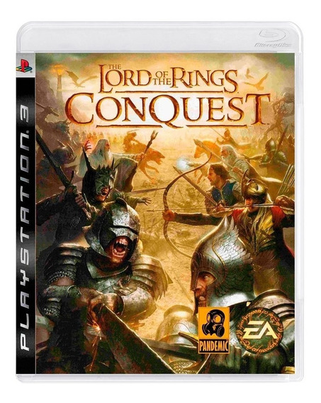 Lord Of The Rings Conquest Ps3 | Mídia Física