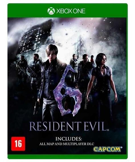 Jogo Resident Evil 6 Xbox One Midia Fisica Nfe