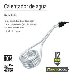 Calentador Eléctrico Para Agua 1000 W 20 Lt Maxtool 304606