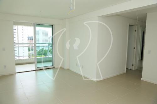 Apartamento Com 3 Dormitórios À Venda, 93 M² Por R$ 849.000,00 - Meireles - Fortaleza/ce - Ap2324