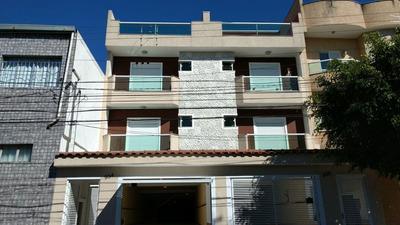 Cobertura Com 3 Dormitórios À Venda, 144 M² Por R$ 440.000 - Vila Pires - Santo André/sp - Co49990