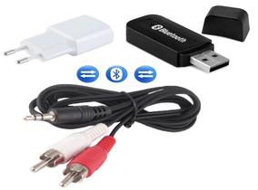 Receptor Áudio Bluetooth Musica Do Smartphone P/ Caixa Som