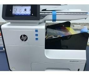 Hp Pro 477 / X477 Usada Com Pouco Uso Com Bulk