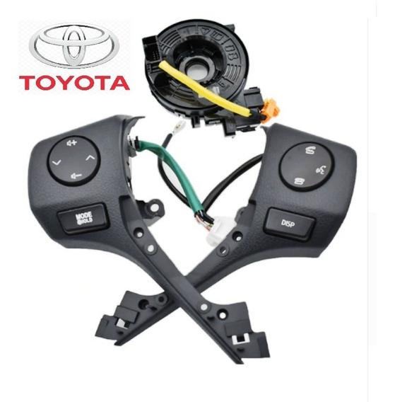 Controle Som Volante Multifuncional Toyota Corolla 2015/2019