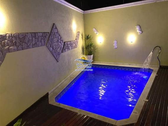 Casa Com Piscina No Caiçara - Sp711