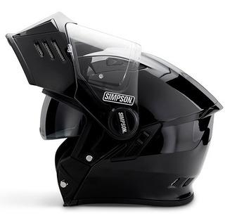 Casco Simpson Mod Bandit Para Motociclista
