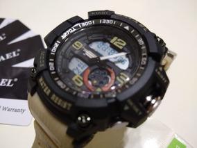 Relógio Masculino Smael Militar Prova D