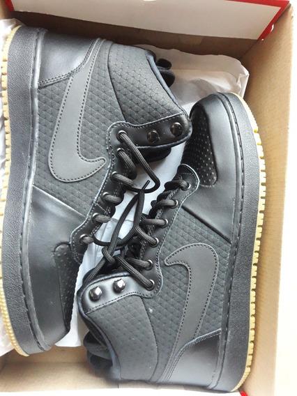 Zapatillas Nike Ebernon Mid Winter Negras Sin Uso