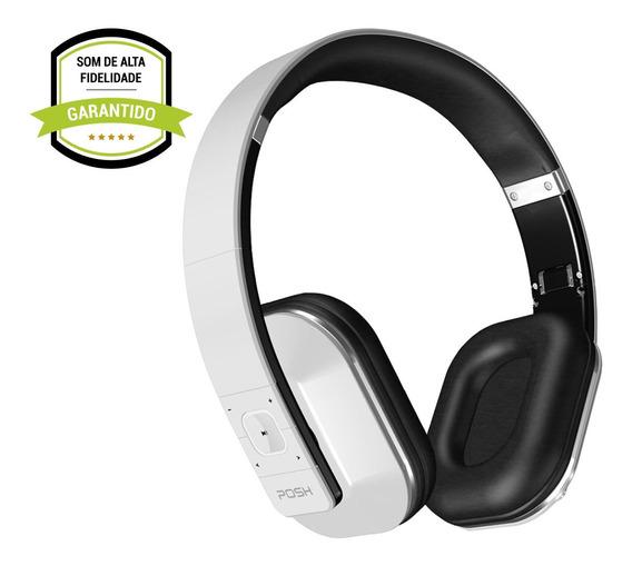 Fone De Ouvido Headphone Bluetooth Celular Posh Punch Wt