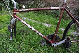 Montain Bike, Cuadro, Cambios Y Frenos Shimano, Pedales Nuev
