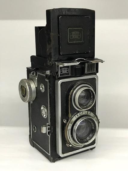 Câmera Ikoflex Zeiss Ikon Tlr 6x6 75mm 3.5(coleção).