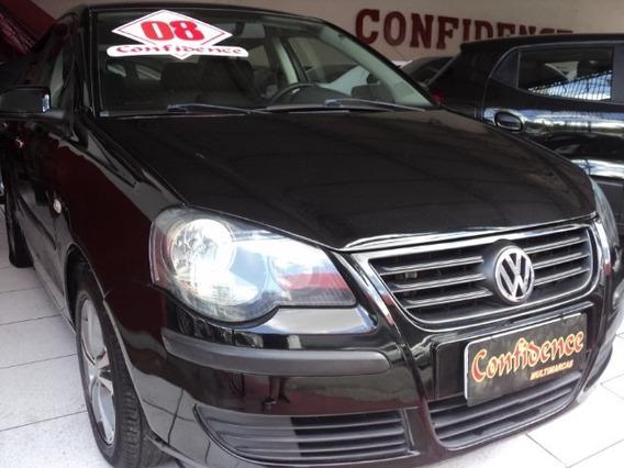 Volkswagen Polo Sedan 1.6 Flex 4p 2008 Completo $18990,00