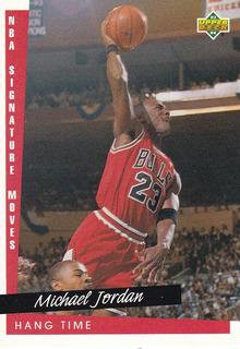 Michael Jordan Tarjeta (nba Signature Moves) Upper Deck