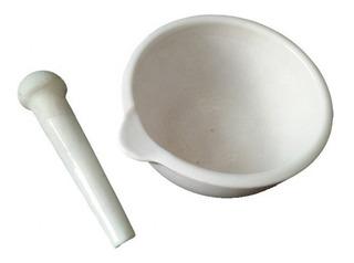 Mortero De Porcelana Con Pilón 130mm