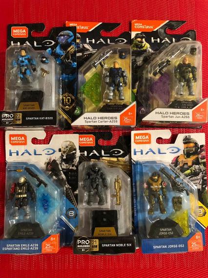 Halo Mega Construx Noble Team