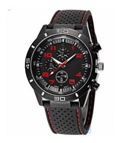 Relógio Masculino Sport Sanwood Gt F1 Silicone