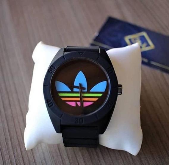 Relógio adidas Santiago Prova D Agua Mega Promoção
