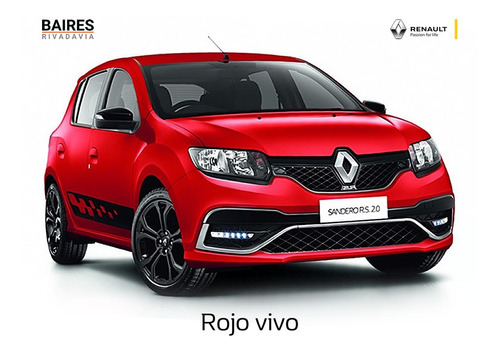 Renault Sandero 1.6 Life Bordo 0km 2021 Contado Financiado