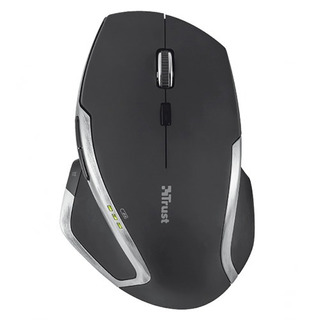 Mouse Laser Inalámbrico Evo Advanced Trust Negro - Trust