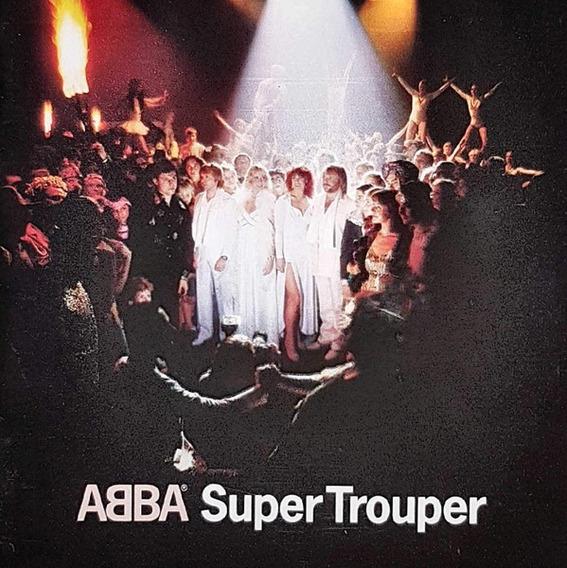 Abba Cd: Super Trouper ( U. E. - Cerrado )