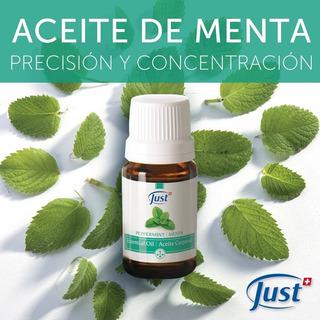 Aceite Esencial De Menta Piperita Peppermint 10ml Swiss Just