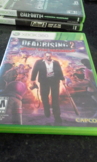 Dead Rising 2 Off The Record Xbox 360 Midia Fisica Semi Novo