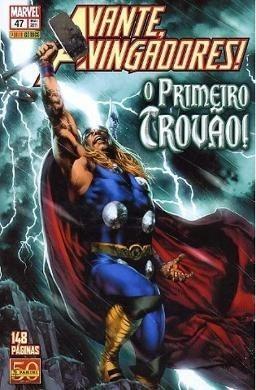 Avante Vingadores Thor O Primeiro Trovão - Panini 2011