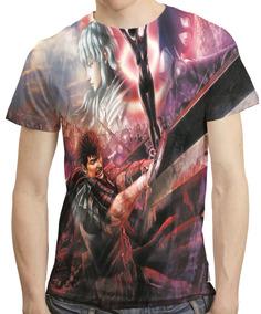 Camisa Anime Camiseta Berserk - Estampa Total Mod 02