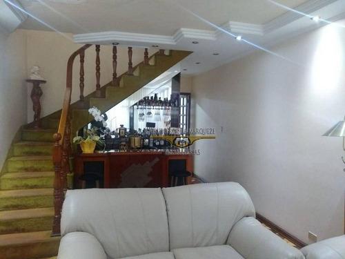 Imagem 1 de 25 de Sobrado Com 3 Dormitórios À Venda, 163 M² Por R$ 650.000,00 - Jardim Vila Formosa - São Paulo/sp - So1604