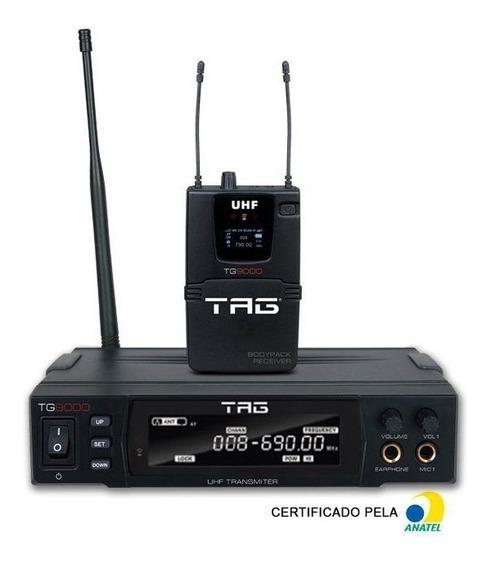 Ponto Eletrônico Tg9000 Sem Fio Fm Tagsound
