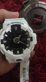 Relógio Casio Ga - 700 Branco.