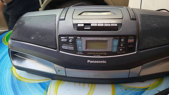 Panasonic Rx-ds28 Radio Cassette Cd Player Boombo Não Liga