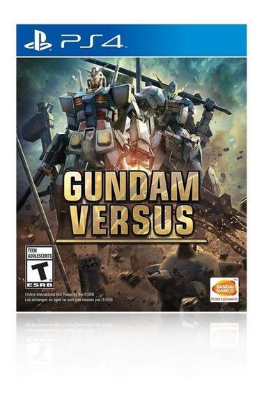 Jogo Game Gundam Versus - Ps4