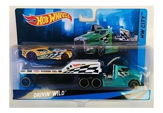 Hot Wheels Drivin Wild Hw City 1:64 Escala De Hot Wheels