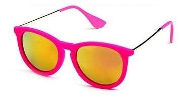 ¤ Óculos Sol Veludo Velvet Espelhado Pink Roxo + Promoção¤