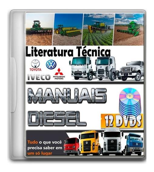 Esquemas E Diagramas Elétricos Automotivo Diesel - 12 Dvds