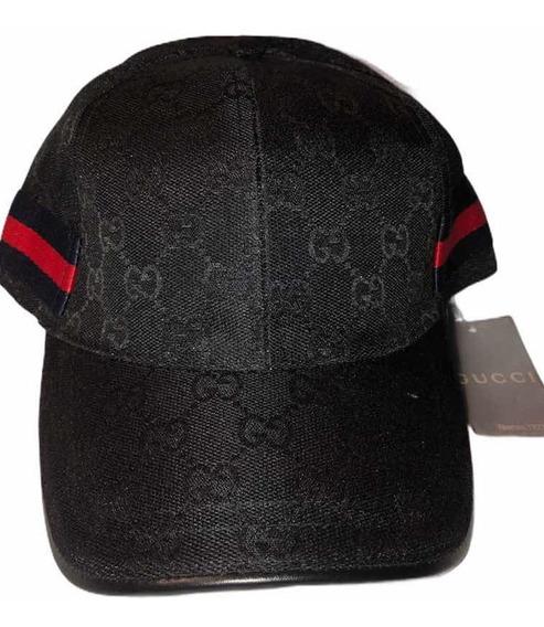 Gorra Gucci Negra 1.1 Excelente Calidad