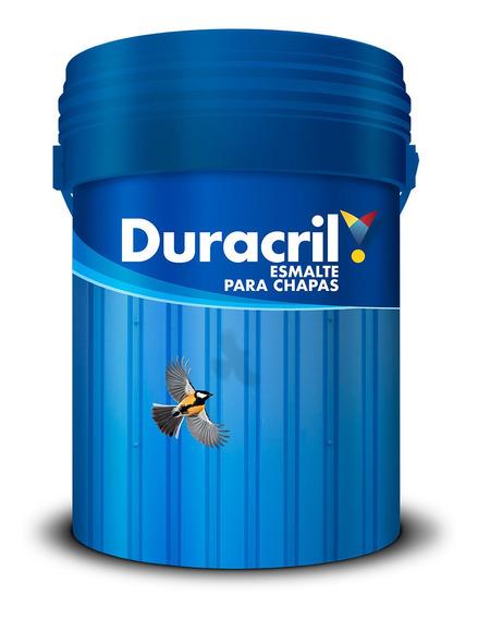 Esmalte Chapa Sintetico Brillante X 1 Litro Satinado Azul