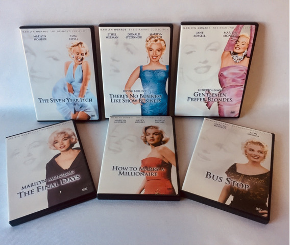 Marilyn Monroe - The Diamond Collection - 6 Dvd Box Região 1