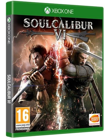 Soulcalibur 6 Vi Xbox One Midia Fisica Novo Nacional Original Envio Imediato