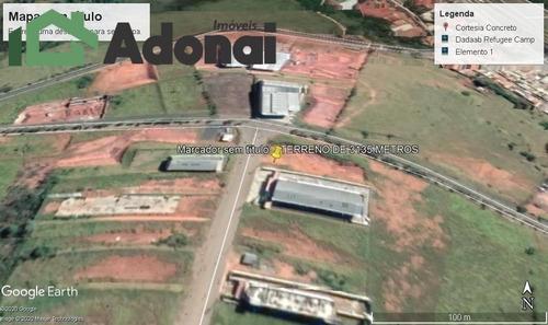 Terreno Industrial À Venda No Parque Empresarial Serras De Atibaia - Sp - 873