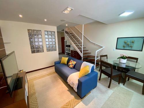 Imagem 1 de 28 de Apartamento Com 2 Dormitórios Para Alugar, 85 M² Por R$ 3.800,00 - Jardim Aquarius - São José Dos Campos/sp - Ap0136