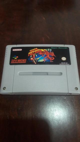 Fita De Super Nintendo Super Metroid